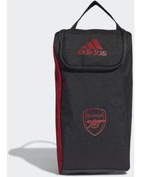 adidas Arsenal Shoe Bag - Black