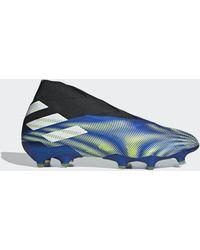 adidas Chaussure Nemeziz+ Terrain souple - Bleu