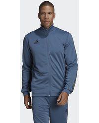 adidas Football Trainingsjacke - Blau