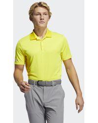 adidas Performance Primegreen Poloshirt - Geel