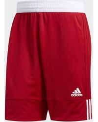 adidas 3g Speed Reversible Shorts - Red