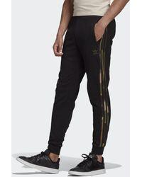 adidas Pantalón Camo Stripes - Negro