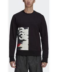 adidas Y-3 CH1 Graphic Sweatshirt - Schwarz