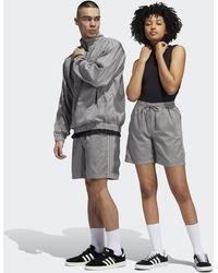 adidas Garment Dyed Shorts (gender Neutral) - Grey