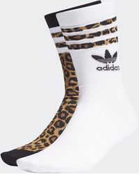 adidas Crew Socks 2 Pairs - Black