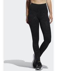 adidas Believe This Glam On Long Tights - Black