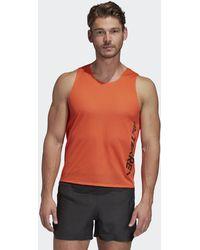 adidas Terrex Agravic Tank Top - Orange