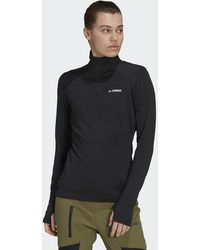 adidas Terrex Everyhike Half-zip Fleece Jacket - Black