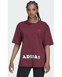 adidas Logo Play Bf T-shirt - Rood