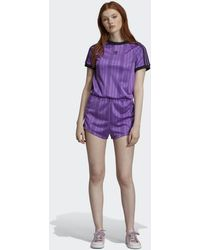 adidas Jumpsuit - Purple