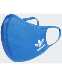 adidas Face Covers XS/S 3-Pack - Blu