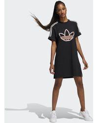 adidas Love Unites T-shirt Jurk - Zwart