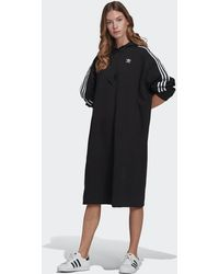 adidas Adicolor Classics Hoodie Dress - Black