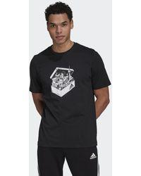 adidas T-shirt Berlin Shoebox - Nero