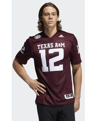 adidas Aggies Premier Away Jersey - Red