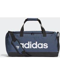 adidas Essentials Logo Duffelbag Medium - Blau