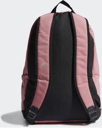 adidas Classic Twill Fabric Rugzak - Roze
