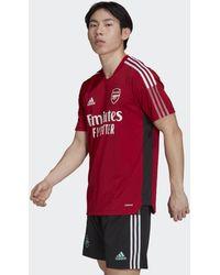 adidas - Camiseta entrenamiento Arsenal Tiro - Lyst