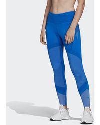adidas 25/7 Primeknit Legging - Blauw