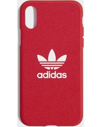 adidas Moulded Case Iphone X 5.8-inch - Rood