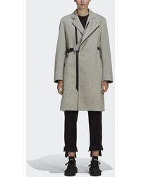 adidas Y-3 CH1 Flannel Coat - Grigio