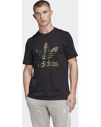 adidas Camiseta Camouflage - Negro