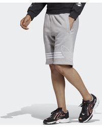 adidas Pantalón corto Outline - Gris