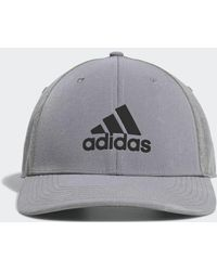 79e163a33 adidas Tour Delta Textured Golf Hat in Blue for Men - Lyst