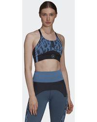adidas By Stella Mccartney Truepurpose Naadloze Beha - Blauw
