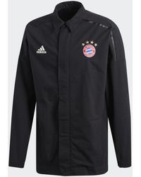 adidas Fc Bayern München Z.n.e. Jack - Zwart
