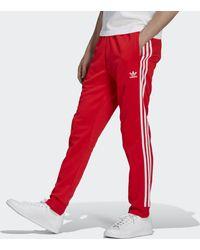adidas Adicolor Classics Primeblue Sst Trainingsbroek - Rood