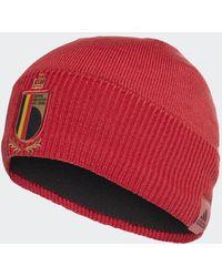 adidas België Beanie - Rood