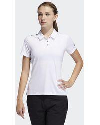 adidas 3-stripes Shoulder Sport Shirt - Wit