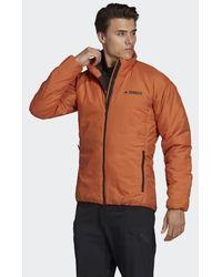 adidas Synthetic Terrex Techrock Gtx Jacket in Bright Yellow