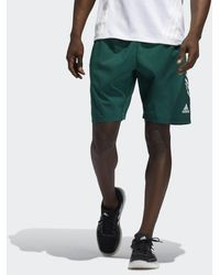 adidas 4KRFT 3-Streifen 9-Inch Shorts - Grün
