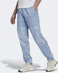 adidas BLOCKED SWTPANT - Azul