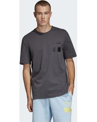adidas T-shirt Kaval Graphic - Gris
