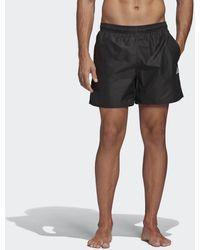 adidas Clx Solid Zwemshort - Zwart