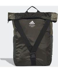 adidas Classic Flap Top Shopper Backpack - Green