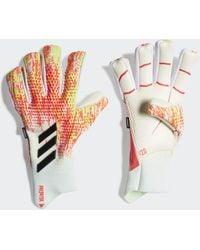 adidas Predator 20 Pro Fingersave Torwarthandschuhe - Weiß