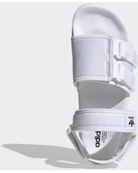 adidas New Adilette Sandalen - Wit