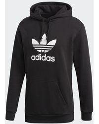 adidas Trefoil Hoodie - Zwart