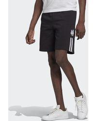 adidas Adicolor 3d Trefoil 3-stripes Joggingshort - Zwart