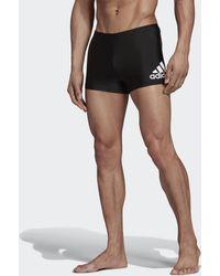 adidas Boxer de natation Badge Fitness - Noir