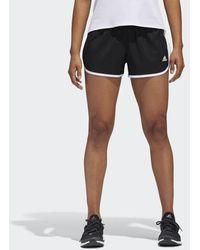 Lyst Arancione Adidas Mio Icona Pantaloncini Arancione Lyst a84f19