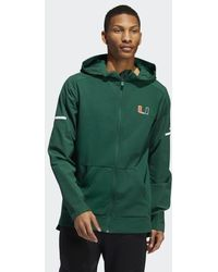 facf904f49 Lyst - Champion Miami Hurricanes Logo Hoodie in Green for Men