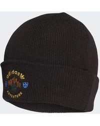 adidas Wool Adventure Cuff Beanie - Zwart