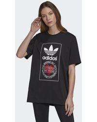 adidas Valentine's Day T-Shirt - Schwarz