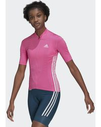 adidas - The Short Sleeve Cycling Jersey - Lyst