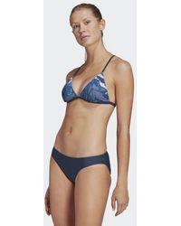 adidas Sh3.ro Wavebeat Triangle Bikinitopje - Blauw